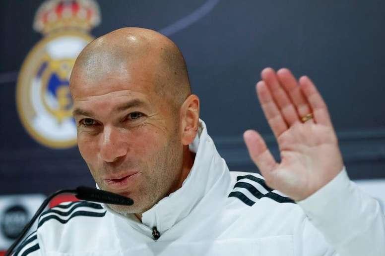 Zidane évoque la Liga. EFE