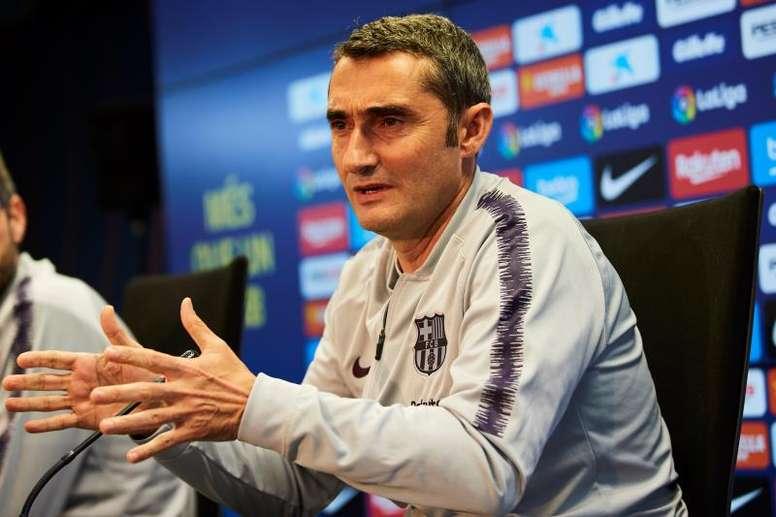 Valverde pense déjà à Manchester United. EFE
