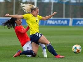 Chile empató en Murcia con Escocia. EFE