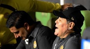 Maradona se oferece ao Manchester United. EFE