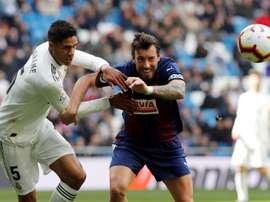 Prováveis escalações de Eibar e Real Madrid. EFE
