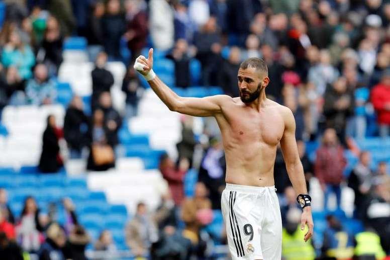 En el Lyon quieren recuperar a Karim Benzema. EFE