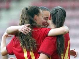 España ganó 7-0. EFE