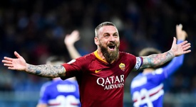 De Rossi is leaving Roma after 18 years. EFE/EPA