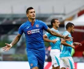Caraglio volvió a la senda del gol. EFE