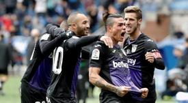 Otra vez el Leganés ganó puntos en el añadido. EFE