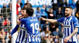 Jonathan Calleri podría volver a jugar en la Liga Española. EFE