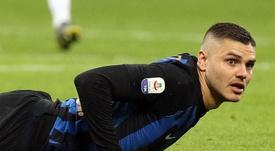 Icardi résiste à partir de l'Inter. EFE