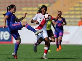 Colombia goleó a Perú por 0-4. EFE
