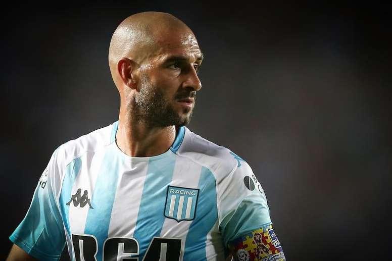 Lisandro López, 'k.o.' para la Copa de la Superliga. EFE