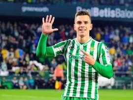 Lo Celso est un joueur du Betis. EFE