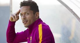 Adriano, a um passo de assinar com o São Paulo. EFE/Arquivo