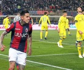 Pulgar sacó al Bologna del descenso. EFE