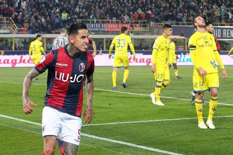 Roma thinking about Aranguiz and Erick Pulgar. EFE