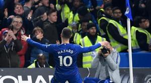 Chelsea accepterait une offre entre 103 et 105 millions pour Hazard. EFE