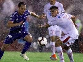 Cruzeiro recibe en esta jornada 4 a Huracán. EFE/Archivo