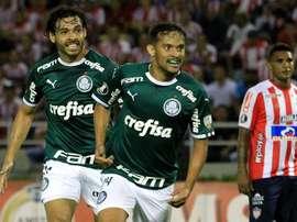 Junior visita a Palmeiras para evitar la eliminación. EFE