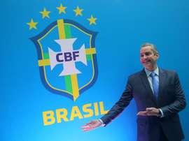 Presidente da CBF, Rogério Caboclo. EFE
