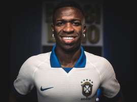 Vinicius estará na Copa América e o Real Madrid já o sabe. EFE