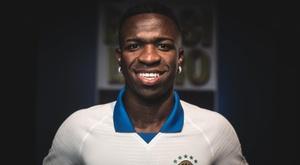Tite ne sélectionne pas Vinicius. EFE/ Pedro Martins/Nike