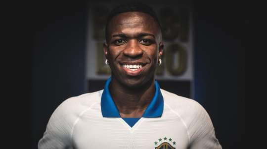 Vinicius has not been called up for Brazil's October friendlies. EFE/PedroMartins/Nike