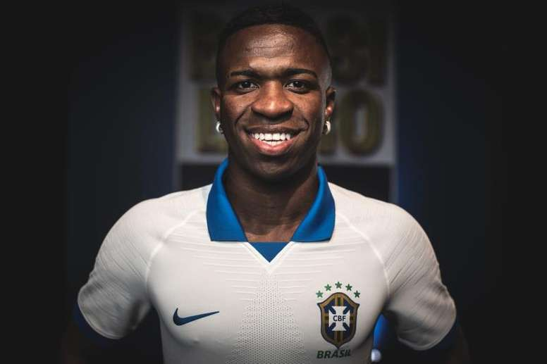 Vinicius has not been called up for Brazil's October friendlies. EFE/PedroMartins/Nike