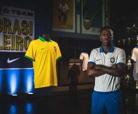 Vinicius falou sobre vários temas em entrevista ao Esporte Espetacular. EFE/ Pedro Martins/Nike