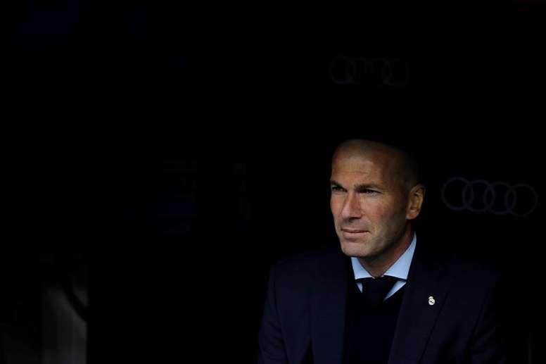 Zidane n'a pas aimé le match des siens à Butarque. EFE