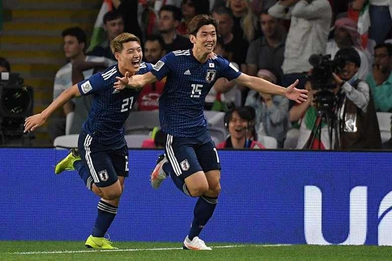 Osako abrió el marcador ante Paraguay. EFE