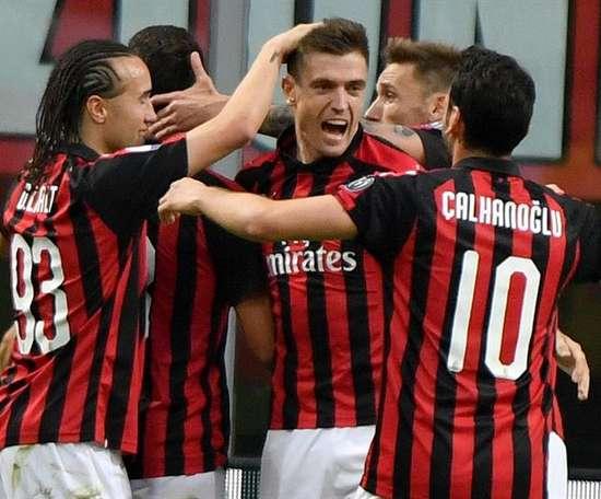 Milan vence Lazio e cola na Champions. EFE/Archivo