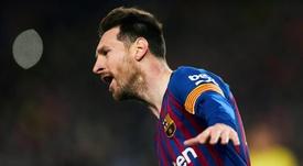 Leo Messi agota los calificativos. EFE
