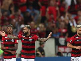 O Flamengo goleou o San José no Maracanã. EFE