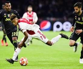 Desfalque do última hora para o Ajax. EFE