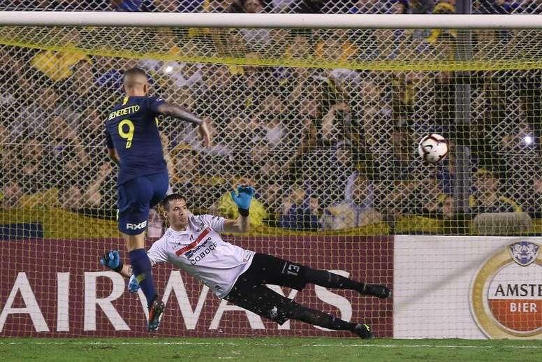 Seis partidos en tres semanas para Boca. EFE