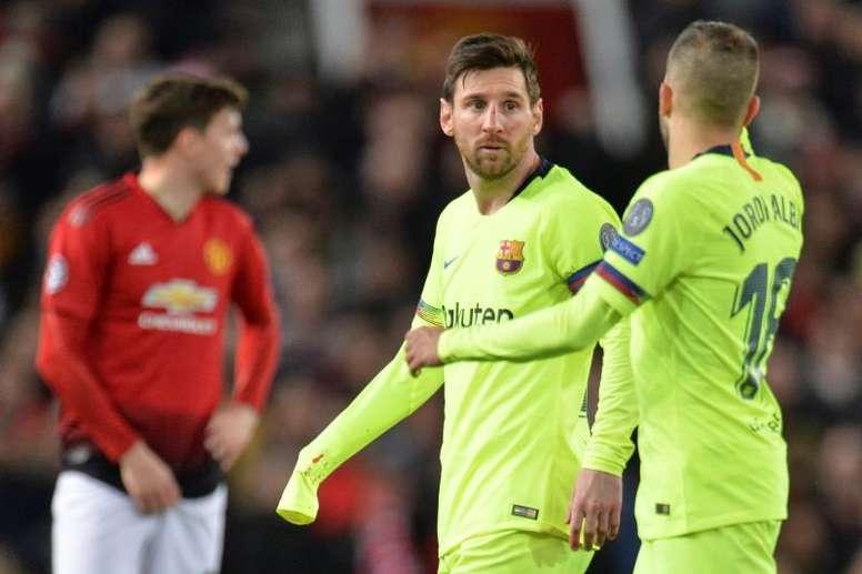 Segundo asalto entre United y Barça. EFE