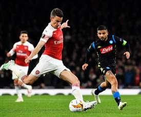 Napoli - Arsenal: onzes iniciais confirmados. EFE