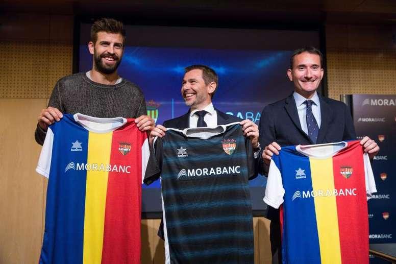 Intercity felicitó al Andorra por adjudicarse la plaza Reus. EFE