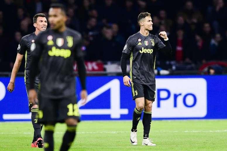 Cristiano Ronaldo não fará parte das opções de Allegri para o duelo frente ao SPAL. EFE