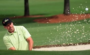 El español José María Olazábal participa este viernes en la segunda ronda del Masters de Augusta 2019, en el Augusta National Golf Club, en Augusta, Georgia (EE. UU.). EFE