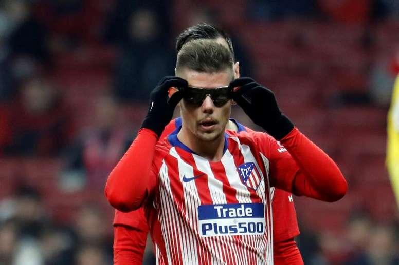 El Valladolid necesitará un lateral zurdo, y Montero lo es. EFE/Archivo