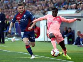 Moussa Wagué vers la Ligue 1. EFE