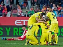 El Villarreal fue el gran triunfador. EFE