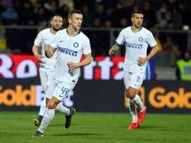 El Inter ha vencido 1-3 al Frosinone. EFE/EPA