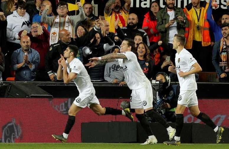El Valencia tiene la llave para Europa. EFE