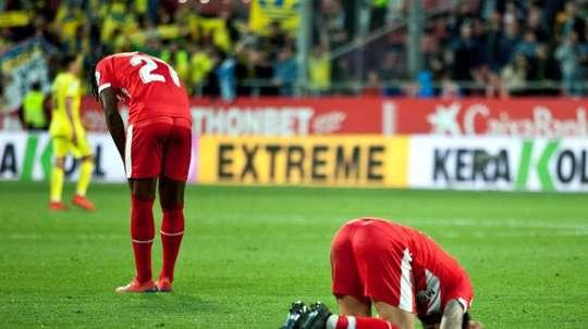 Girona will play in Spain's Segunda División next season.EFE
