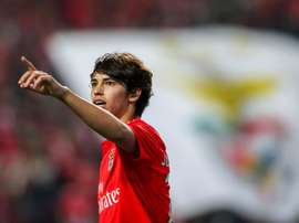 Joao Felix could be on the verge of signing for Atletico Madrid this summer. EFE/EPA