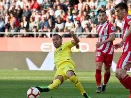 Girona y Villarreal se ven las caras en Copa del Rey. EFE