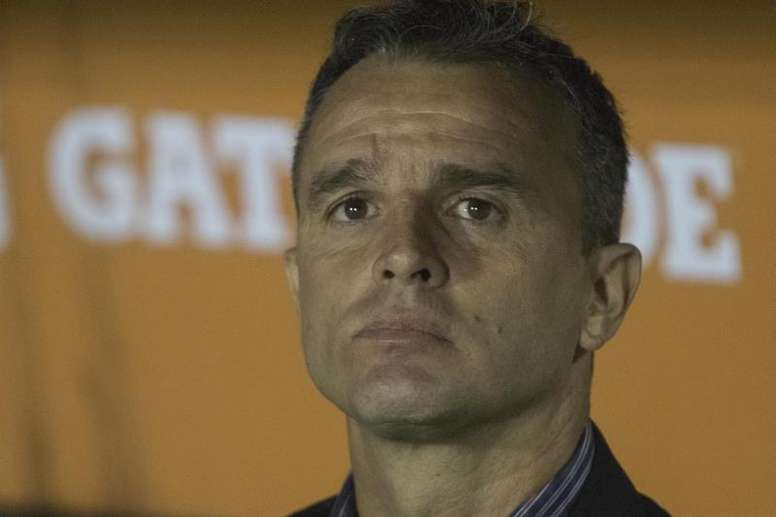 Lavallén pidió perdón a los 30.000 hinchas desplazados. EFE