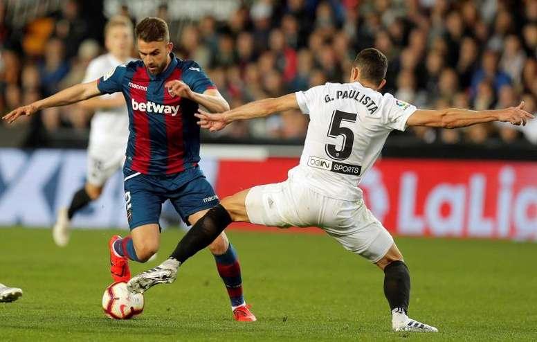 El Valencia solo ha perdido dos de los últimos 24 partidos. EFE