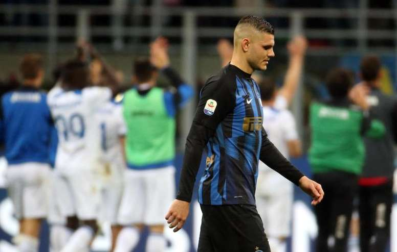 Conte would demand Icardi's departure from Inter. EFE